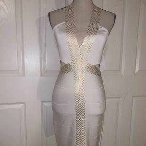 Bebe bandage dodycon dress